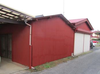 いすみ市の屋根・外壁リフォーム事例です。素早く丁寧な施工でした。